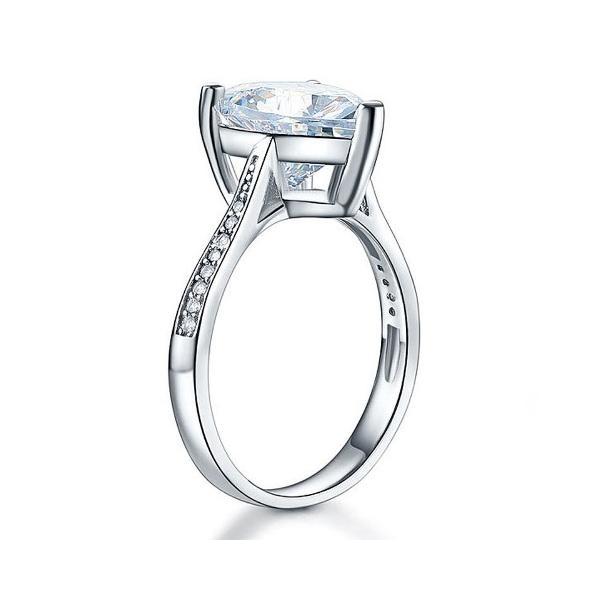 ハートシェイプ 指輪 リング ハート型 婚約指輪 ハート型 かわいい おすすめ 人気|monacofashion|02