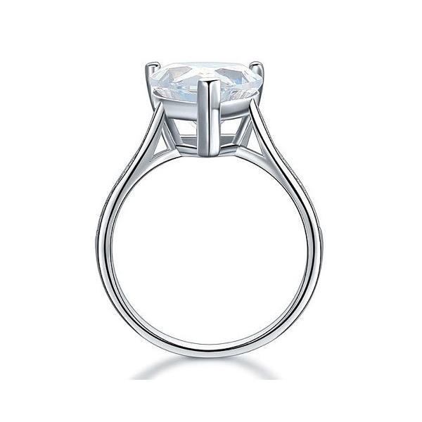 ハートシェイプ 指輪 リング ハート型 婚約指輪 ハート型 かわいい おすすめ 人気|monacofashion|04