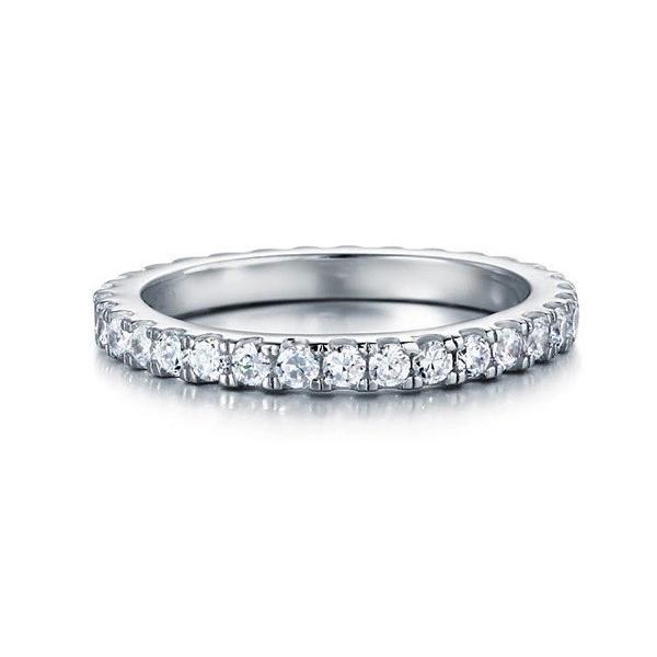 フルエタニティリング エタニティリング レディース 指輪 リング ギフト プレゼント 結婚指輪 婚約指輪 ラウンド ペア|monacofashion|02