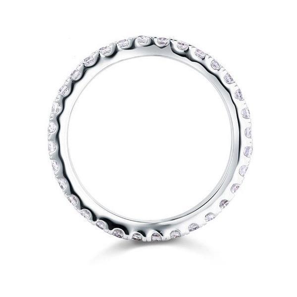 フルエタニティリング エタニティリング レディース 指輪 リング ギフト プレゼント 結婚指輪 婚約指輪 ラウンド ペア|monacofashion|03