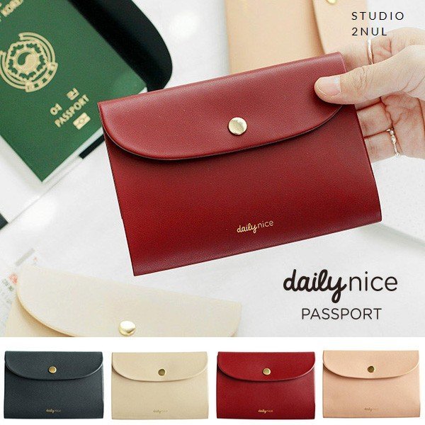 2nul イナル [2nul] Daily Nice Passport Cover/パスポートケース/旅行用品/韓国雑貨
