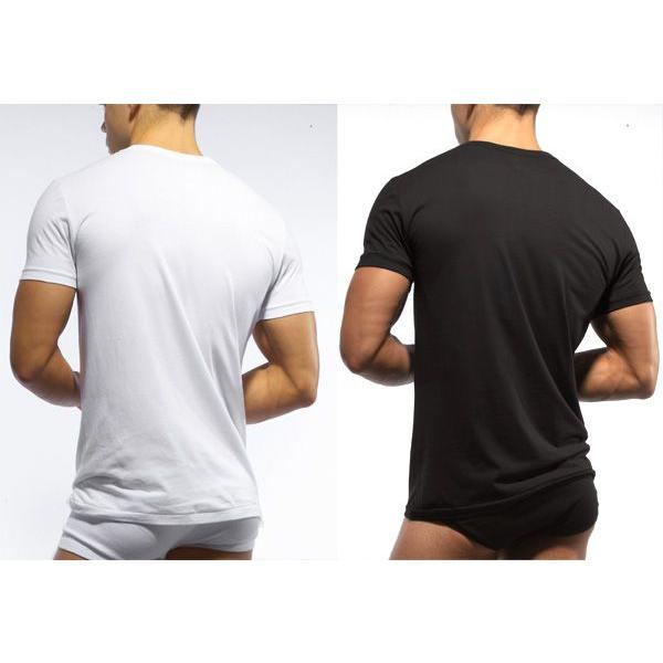 C-IN2 シーインツー メンズ VネックTシャツ CORE BASIC V-NECK T-SHIRT CIN2|monkey|02