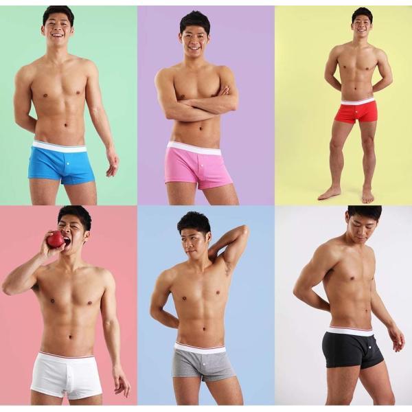 ヒーローカラーズ ニットトランクス イージーモンキーオリジナル 日本製 Made in JAPAN コットンストレッチ ポップカラー メンズ 男性下着 メンズ下着 パンツ monkey 13