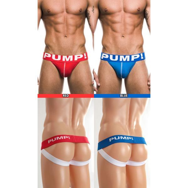 PUMP パンプ ジョックストラップ JOCK STRAP PUMP! Underwear 男性下着 メンズ 下着 フィットネス 筋トレ|monkey|02