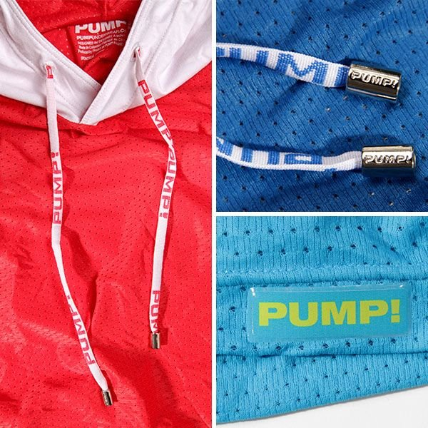 PUMP パンプ スリーブレス パーカー タンクトップ トレーニングウェア トップス PUMP! Underwear メンズ フィットネス 筋トレ monkey 05