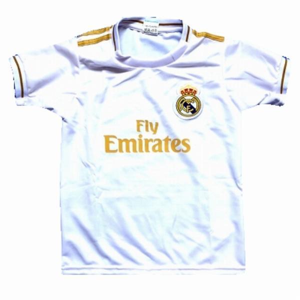 59aab6fd4a0a6 子供用 K001 レアルマドリード 白金 20 ゲームシャツ パンツ付 キッズ ジュニア サッカー ユニフォームの