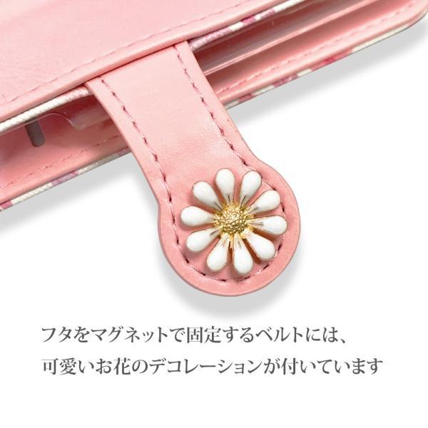 iPhone 11 ケース 手帳型 iphone11 pro max スマホケース タッセル付き カード収納 アイフォン 手帳型カバー 花柄|monocase-store|07