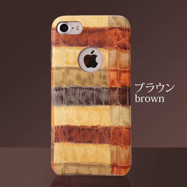 iPhoneケース iPhoneX iPhone8 iPhone7 iPhone8Plus iPhone7Plus ソフト オータムクロコ|monocase-store|07