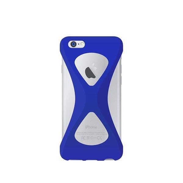iPhone6s Plus/6 Plus ケース パルモ 落下防止 軽量 高品質シリコン 耐衝撃 吸収 片手操作 ポケモンGO 最適 Palmo Blue