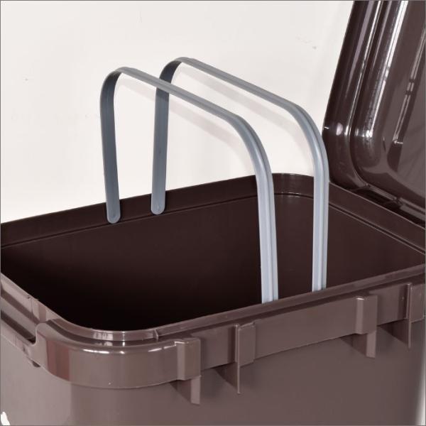 ゴミ箱 ごみ箱 ダストボックス ふた付き おしゃれ 分別 キッチン ジョイントペール 45L garbage can 2個セット|monogallery|04