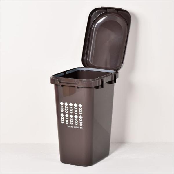 ゴミ箱 ごみ箱 ダストボックス ふた付き おしゃれ 分別 キッチン ジョイントペール 45L garbage can 2個セット|monogallery|06