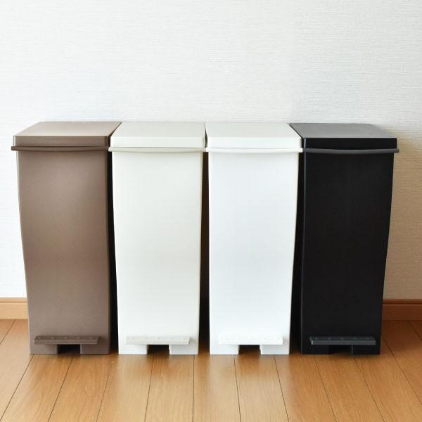 ゴミ箱 ごみ箱 ダストボックス ふた付き おしゃれ 分別 kcud30 クードスリムペダル 2個セット 販売個数28000個突破|monogallery|03