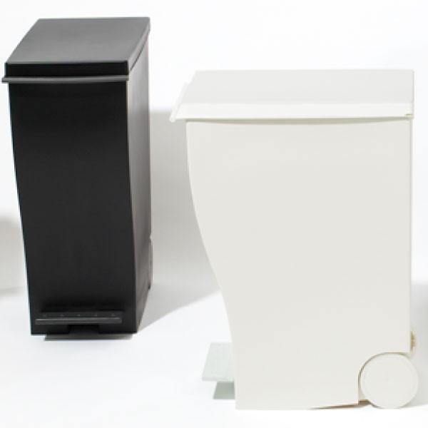 ゴミ箱 ごみ箱 ダストボックス ふた付き おしゃれ 分別 kcud30 クードスリムペダル 2個セット 販売個数28000個突破|monogallery|05