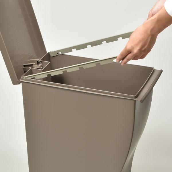 ゴミ箱 ごみ箱 ダストボックス ふた付き おしゃれ 分別 kcud30 クードスリムペダル 2個セット 販売個数28000個突破|monogallery|06