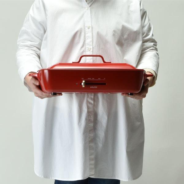 ホットプレート 本体+4種プレート 【レシピ+たこ焼きピック】 BRUNO グランデサイズ グランデ用グリルプレート 深鍋セット 大型 おしゃれ ブルーノ|monogallery|14