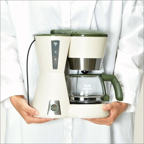 BRUNO My Little シリーズ 4-CUPコーヒーメーカー ブルーノ コーヒーマシン おしゃれ|monogallery|08
