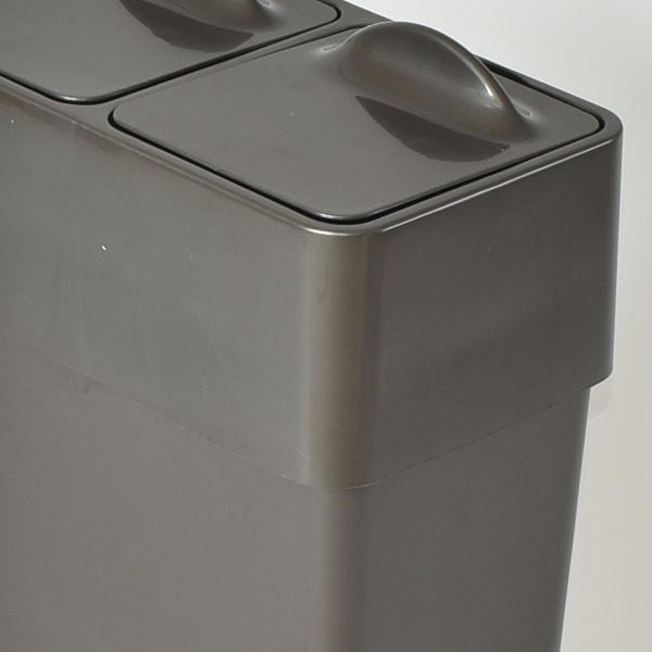 ゴミ箱 ごみ箱 ダストボックス ふた付き おしゃれ 分別型 Umbra アンブラ エコリッドカン garbage can|monogallery|04
