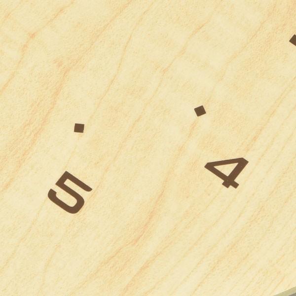 掛け時計 オシャレ 北欧 電波時計 シンプル モダン おしゃれ 壁掛け時計 ノア精密 rimlex アンティール W-473|monogallery|04
