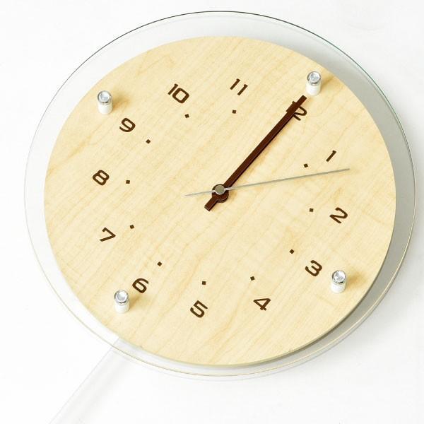 掛け時計 オシャレ 北欧 電波時計 シンプル モダン おしゃれ 壁掛け時計 ノア精密 rimlex アンティール W-473|monogallery|05