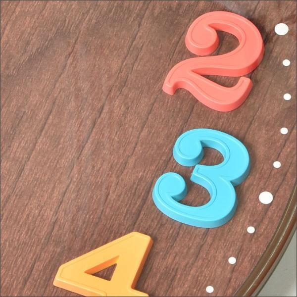 掛け時計 おしゃれ 掛時計(掛時計 掛け時計) 電波時計 壁掛け時計 エアリアルキッズ W-618 新築祝い 引越祝い 結婚祝い|monogallery|04