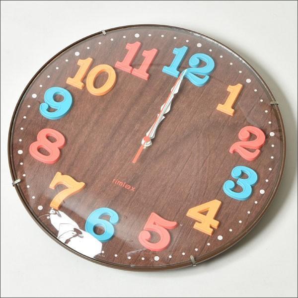 掛け時計 オシャレ 北欧 電波時計 シンプル モダン おしゃれ 壁掛け時計 ノア精密 rimlex エアリアルキッズ W-618|monogallery|05