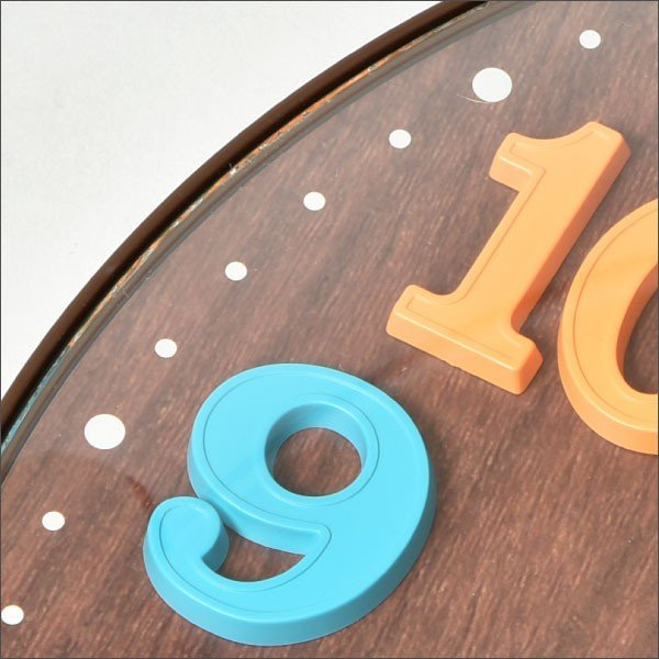 掛け時計 オシャレ 北欧 電波時計 シンプル モダン おしゃれ 壁掛け時計 ノア精密 rimlex エアリアルキッズ W-618|monogallery|06