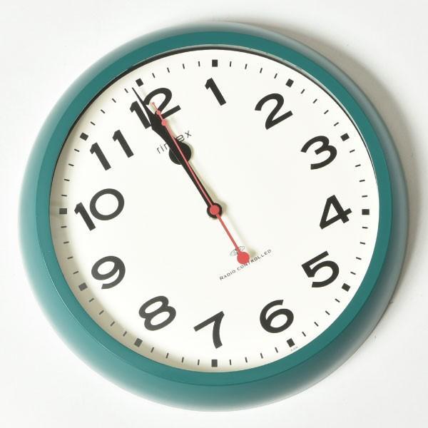 掛け時計 オシャレ 北欧 電波時計 シンプル モダン おしゃれ 壁掛け時計 ノア精密 rimlex モーメンタム W-636|monogallery|05