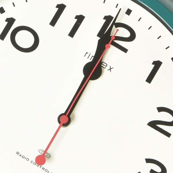 掛け時計 オシャレ 北欧 電波時計 シンプル モダン おしゃれ 壁掛け時計 ノア精密 rimlex モーメンタム W-636|monogallery|06
