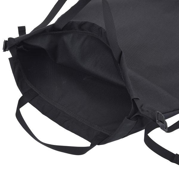 3WAY ショッピングバッグ ナップサック デイパック コーデュラ ナイロン 500D ブラック monogoods モノグッズ 送料無料