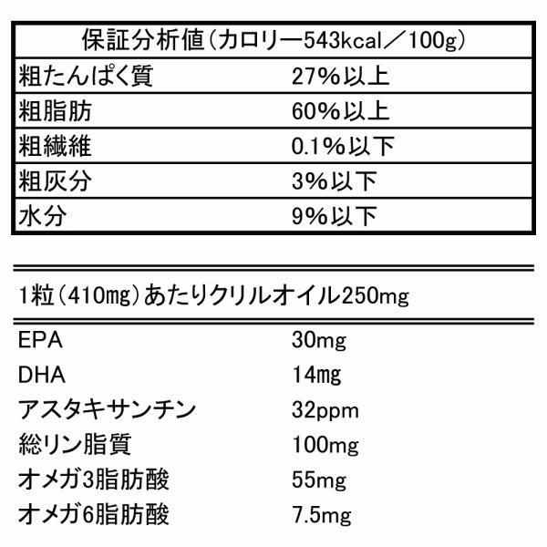 クリルオイル 犬 猫 用 サプリメント サプリ EPA DHA 抗酸化成分 アスタキサンチン で健康を維持し 膝 ひざ 関節 心血管 脳 を健康に保つ クリルオイル180粒|monolith-net|15