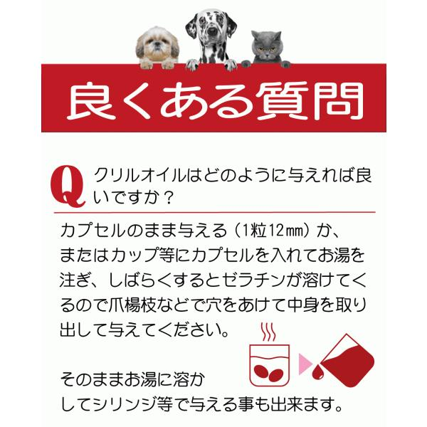 クリルオイル 犬 猫 ペット 用 サプリメント サプリ EPA DHA 抗酸化 成分 アスタキサンチン で健康を維持し 膝 ひざ 関節 心血管 脳 を健康に保つ 30粒 monolith-net 14