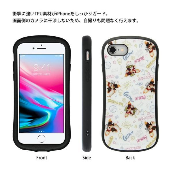 iPhone8 iPhone7 ケース ガラス グレムリン|monomode0629|05