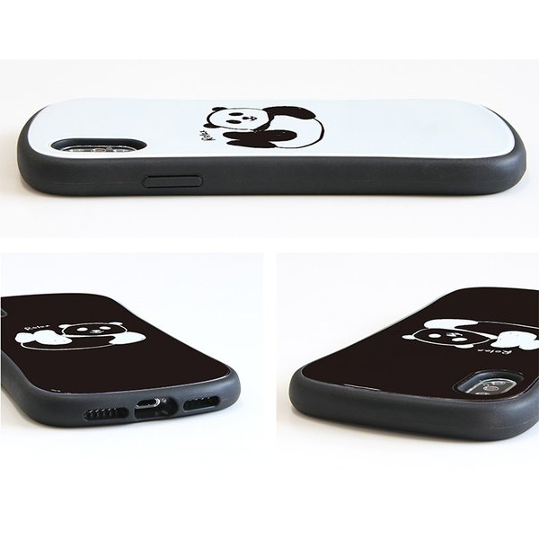 iPhone XR ケース iPhone Xs iselect パンダ monomode 05