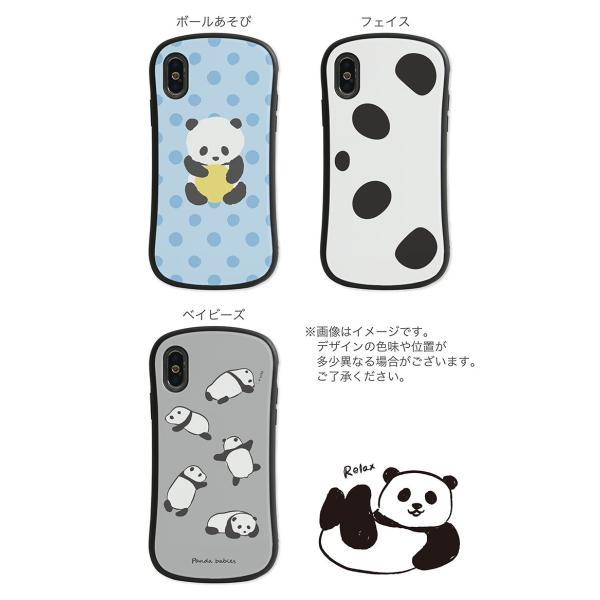 iPhone XR ケース iPhone Xs iselect パンダ monomode 07