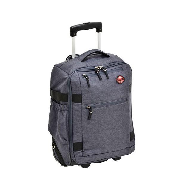 エンドー鞄 Spasso STEP2 スパッソ ステップ2 リュックキャリー リュックサック キャリーバッグ 機内持ち込み 杢調グレー 1-030-GY