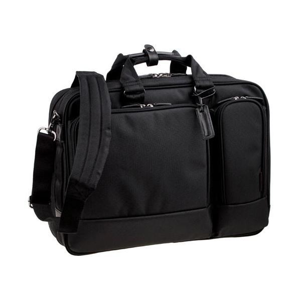 服部 RYU'S ONE リューズワン FB 2way ビジネス ブリーフケース ショルダーバッグ 2ルーム エキスパンダブル ブラック 10-2542-BK