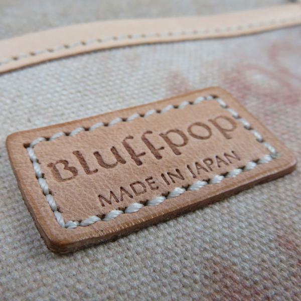 服部 BLUFFPOP ブラフポップ 国産 8号帆布 プリント カジュアル トートバッグ IJ55-7162|monosapiens|06