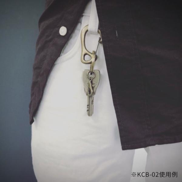 KAMISHIRAISHI acc 上白石 S字 カラビナ セット 真鍮 アクセサリー KCB-01|monosapiens|07