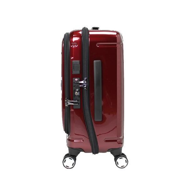 【全商品ポイント10倍】 BERMAS EURO CITY ユーロシティ 4輪 フロントオープン スーツケース ハードキャリー ファスナー 38L 機内持込 TSAロック付 コン 6029060|monosapiens|02