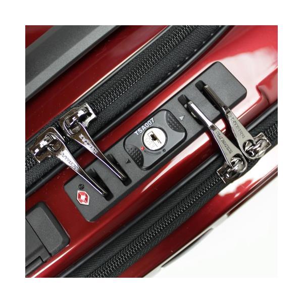 【全商品ポイント10倍】 BERMAS EURO CITY ユーロシティ 4輪 フロントオープン スーツケース ハードキャリー ファスナー 38L 機内持込 TSAロック付 コン 6029060|monosapiens|04
