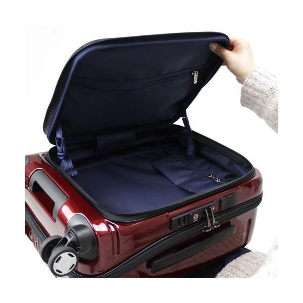 【全商品ポイント10倍】 BERMAS EURO CITY ユーロシティ 4輪 フロントオープン スーツケース ハードキャリー ファスナー 38L 機内持込 TSAロック付 コン 6029060|monosapiens|05