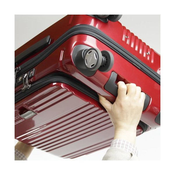【全商品ポイント10倍】 BERMAS EURO CITY ユーロシティ 4輪 フロントオープン スーツケース ハードキャリー ファスナー 38L 機内持込 TSAロック付 コン 6029060|monosapiens|06