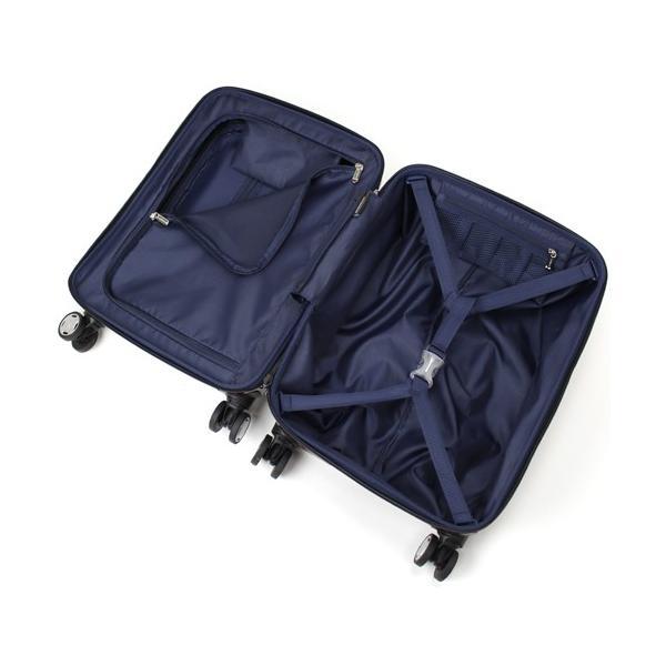 【全商品ポイント10倍】 BERMAS EURO CITY ユーロシティ 4輪 フロントオープン スーツケース ハードキャリー ファスナー 38L 機内持込 TSAロック付 コン 6029060|monosapiens|07