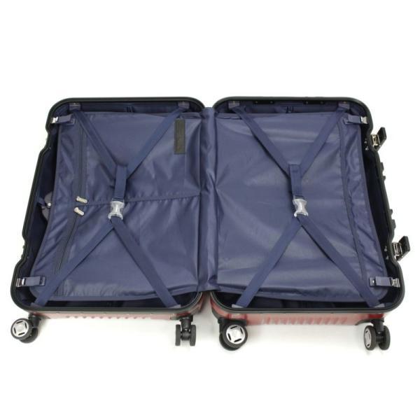 【全商品ポイント10倍】 BERMAS PRESTIGE III バーマス プレステージ3 スーツケース ハードキャリー フレームタイプ 4輪 62cm 66L ネイビー 6028160|monosapiens|02