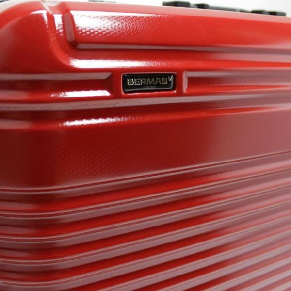【全商品ポイント10倍】 BERMAS PRESTIGE III バーマス プレステージ3 スーツケース ハードキャリー フレームタイプ 4輪 62cm 66L ネイビー 6028160|monosapiens|03