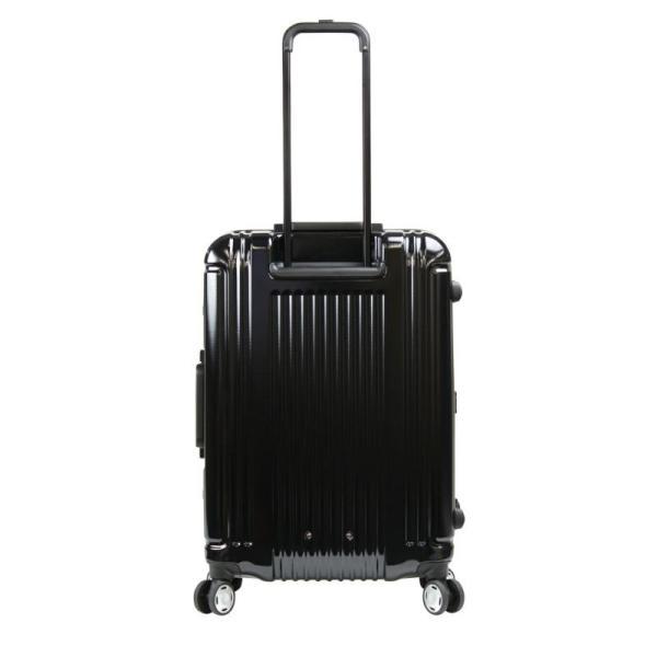 【全商品ポイント10倍】 BERMAS PRESTIGE III バーマス プレステージ3 スーツケース ハードキャリー フレームタイプ 4輪 62cm 66L ネイビー 6028160|monosapiens|05