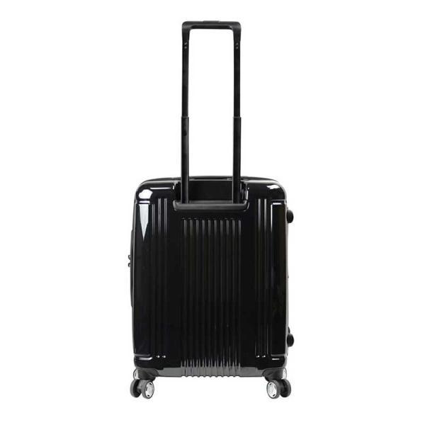 BERMAS EURO CITY ユーロシティ 横開き フロントオープン スーツケース ハードキャリー ファスナータイプ 55L 機内持込 TSAロック 4輪 レッド 6029130|monosapiens|03