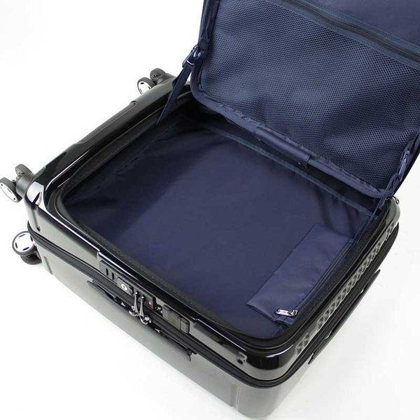 BERMAS EURO CITY ユーロシティ 横開き フロントオープン スーツケース ハードキャリー ファスナータイプ 55L 機内持込 TSAロック 4輪 レッド 6029130|monosapiens|04