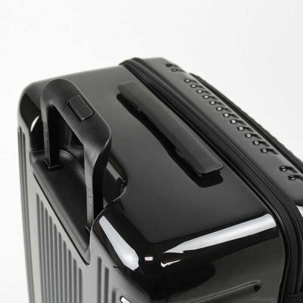 BERMAS EURO CITY ユーロシティ 横開き フロントオープン スーツケース ハードキャリー ファスナータイプ 55L 機内持込 TSAロック 4輪 レッド 6029130|monosapiens|06