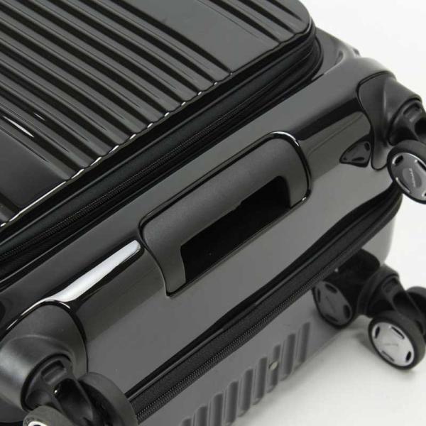 BERMAS EURO CITY ユーロシティ 横開き フロントオープン スーツケース ハードキャリー ファスナータイプ 55L 機内持込 TSAロック 4輪 レッド 6029130|monosapiens|07